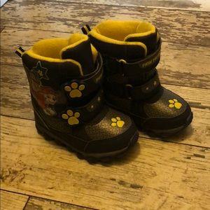 Paw patrol light up snow boots